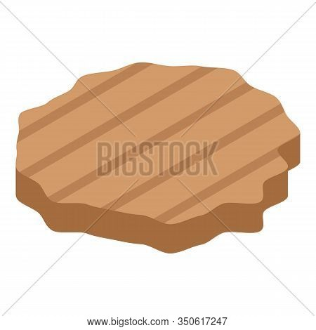 Cutlet Icon. Isometric Of Cutlet Vector Icon For Web Design Isolated On White Background