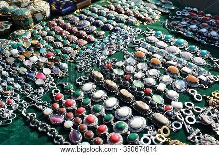 Retro Jewellery In Swap Meet