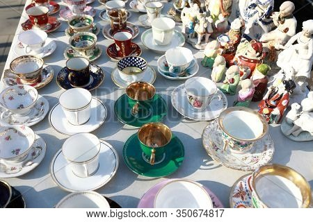 Secondhand Coffee And Tea Cups