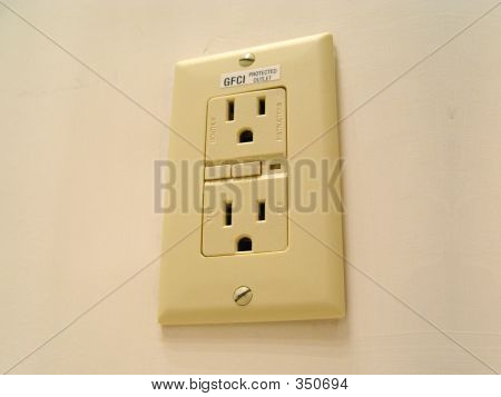 GFCI Safety Electrical Outlet