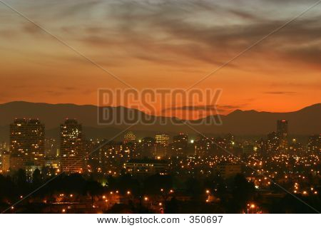 Dusk In Santiago