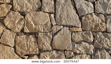 Sandstone Wall Surface