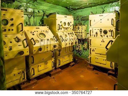 Novorossiysk, Russia - August 01, 2019: The Radar Room