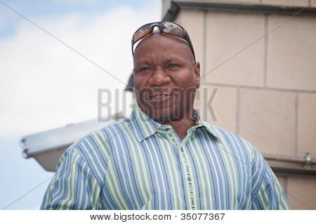 MOSCOW, RUSSIA, JULY, 18: Actor  Ving Rhames.   Premiere of the movie
