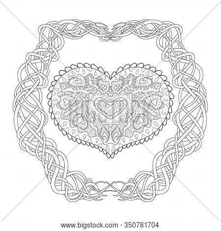 Valentines Day Coloring Pages for Adults - Best Coloring Pages For ... | 470x450