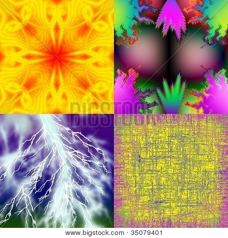 Colorful Backgrounds With Patterns