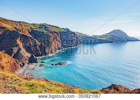 Ponta De Sao Lourenco, East Coast Of Madeira Island.
