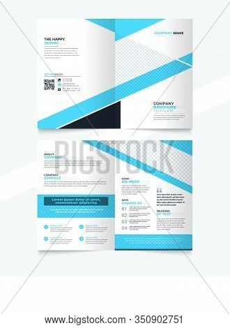 Blue Corporate Brochure And Flyer Design, Brochure Template, Brochures, Brochure Layout, Brochure Co