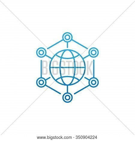 Network. Network icon. Network vector. Networking icon vector. Network logo. Network symbol. Network web icon. Internet Network vector. Network vector flat icon symbol for website, mobile, logo, app, UI. Network icon isolated on white background.