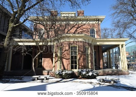 Chicago, Il February 14, 2020, Jane Addams Hull House And Museum At The University Of Illinois At Ch