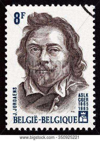 Belgium - Circa 1965: A Stamp Printed In Belgium From The