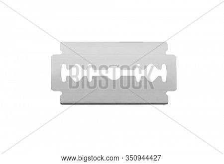 Razor blade isolated on white background, including clipping path
