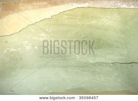 Old-style background, vector