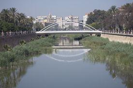 Murcia Stadt bridge