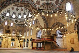 09/10/2019 Amasya: Indoor Of Sultan Bayezid Ii Mosque In Amasya, Turkey.