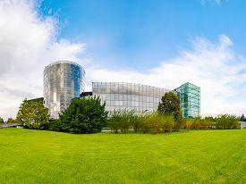 Dresden, Germany - September 22, 2014: Volkswagen Car Factory In Dresden, Germany, Europe