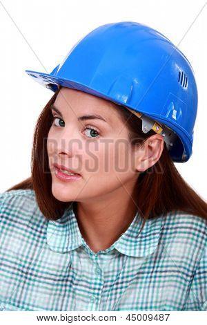 A sceptical tradeswoman