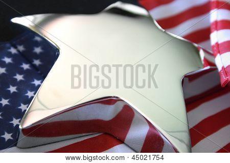 US Silver Bright Star
