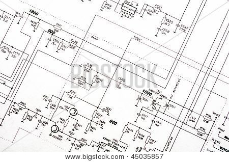 Detailed Technical Drawing
