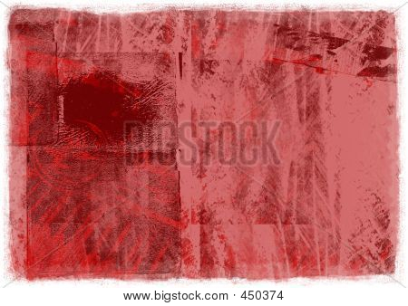 red paper background poster