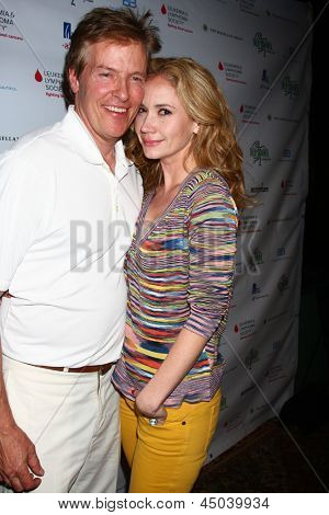 LOS ANGELES - APR 15:  Jack Wagner, Ashley Jones at the Jack Wagner Celebrity Golf Tournament benefitting the Leukemia & Lymphoma Society at the Lakeside Golf Club on April 15, 2013 in Toluca Lake, CA