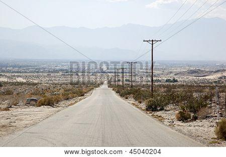 Hot, Dusty, Desert Back Road