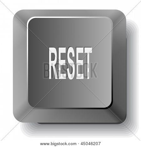 Reset. Raster computer key.