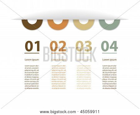 Design Template With Special Modern Elements