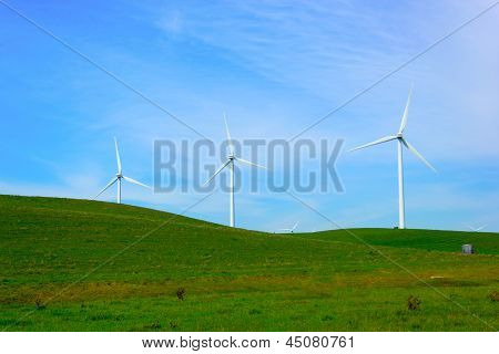 Shiloh Wind Power Plant is a wind farm located in the Montezuma Hills of Solano County California USA very near to Bird's Landing. It has a nameplate capacity of 300 megawatts (MW) of power. poster