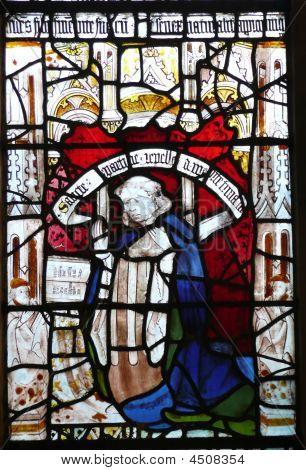 Church Window * St Martin-le-grand