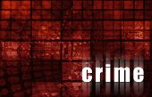 Crime Technology Abstract Background as a Art poster