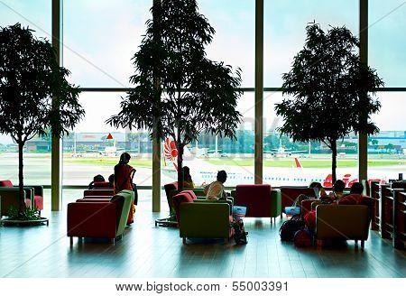 Lounge At Changi  Airport