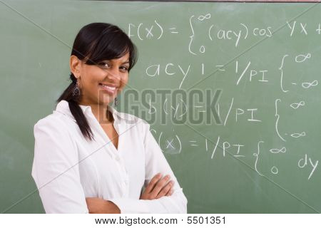 Elegant Maths Teacher