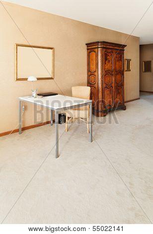 interior nice apartment, detail living room