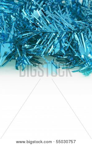 Blue Decoration For Christmas And New Year