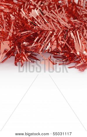 Red Decoration For Christmas And New Year