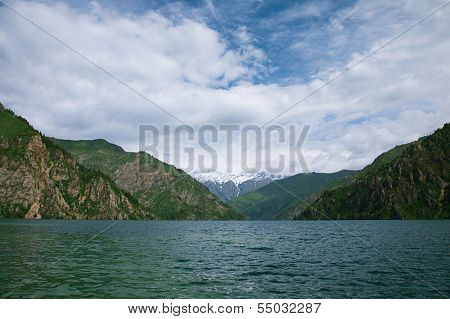 Sary Chelek lake, Jalal Abad region, Kyrgyzstan, Central Asia