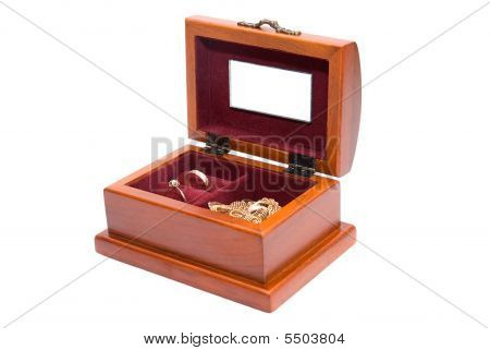 Wooden Casket For Jewelry