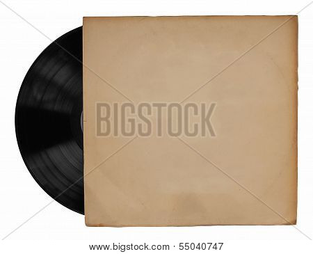 Old Vinyl With Cover