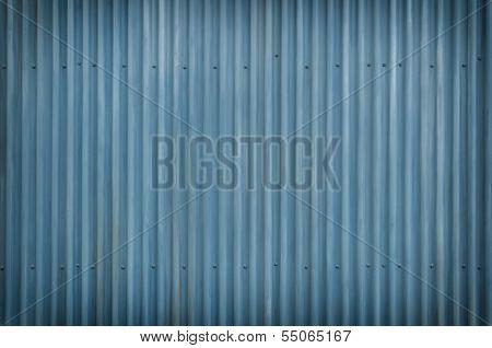 Cool Blue Metal Grunge Background