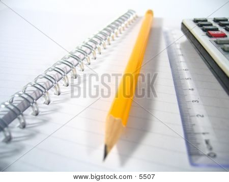 Writing Pad With Pencil I