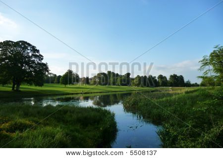 Lydiard Park Lake Landscape