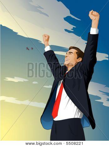 Businessman Wins