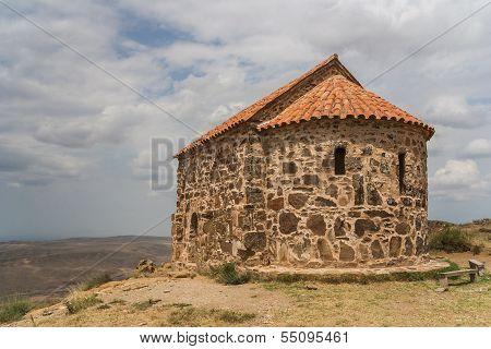 Part Of The Davit Gareji Monastery In Kakheti
