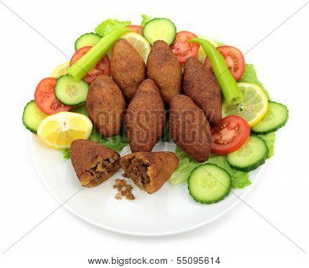 Turkish dish,( icli kofte )