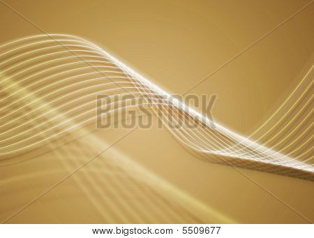 Golden Twirls