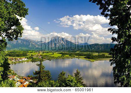 panorama landscape in Bavaria