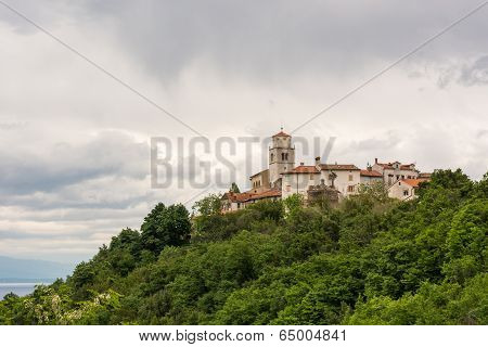 Medieval Town On A Hill Top