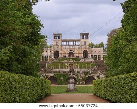 Orangerie in Park Sanssouci in Potsdam Berlin Germany poster