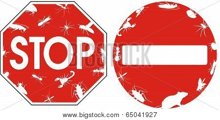 pest control - signs